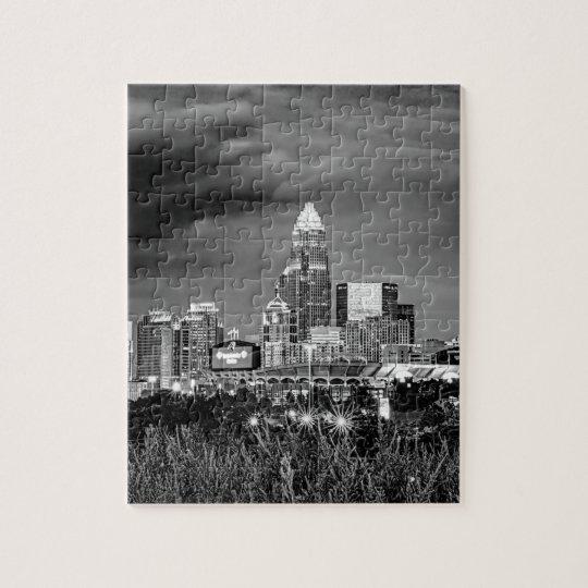 charlotte north carolina architecture skyline buil jigsaw puzzle