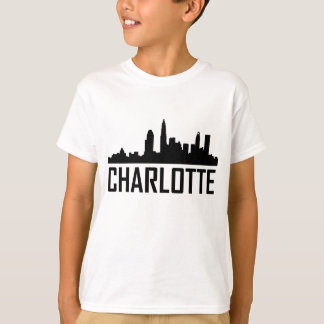 Charlotte North Carolina City Skyline T-Shirt