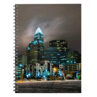 Charlotte, North Carolina skyline Notebooks