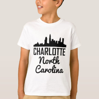 Charlotte North Carolina Skyline T-Shirt