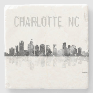 CHARLOTTE, NORTH CAROLINA - Stone drinks coaster