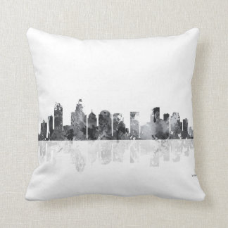 CHARLOTTE, NORTH CAROLINA - Throw pillow