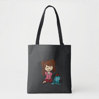 Charlotte Pudding Chibi Version Tote Bag