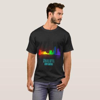 Charlotte Rainbow Skyline T-Shirt