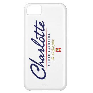 Charlotte Script Case For iPhone 5C