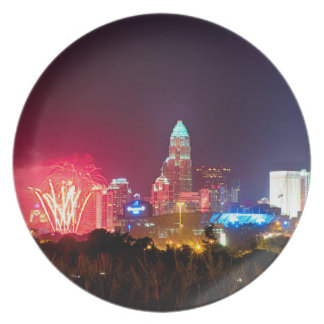 charlotte skyshow 2015 party plates