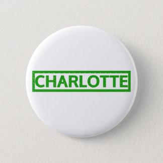 Charlotte Stamp 2 Inch Round Button