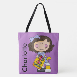 Charlotte's Crayon Personalized Tote