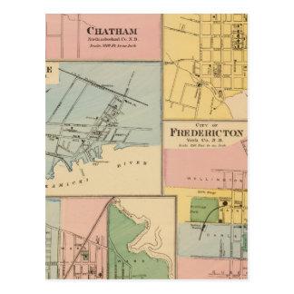 Charlottetown, Fredericton, Moncton Postcard