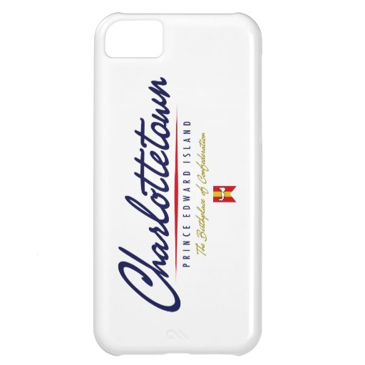 Charlottetown Script iPhone 5C Covers