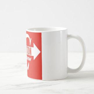 Charlton Arrow Classic logo Coffee Mug