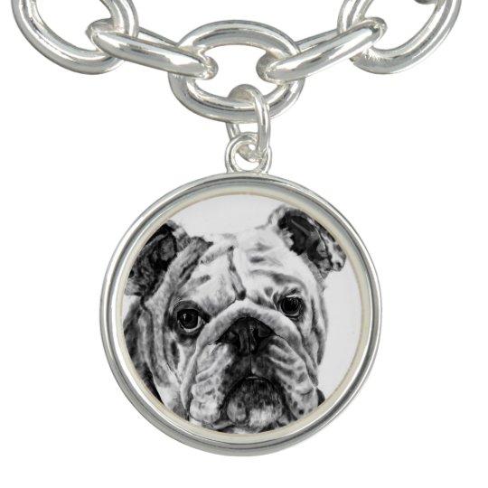 Charm Bracelet - Bulldog