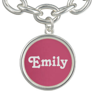 Charm Bracelet Emily