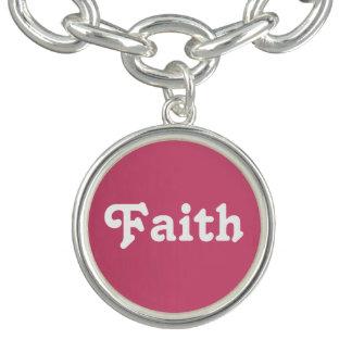 Charm Bracelet Faith