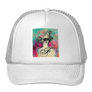 CHARM MONOGRAM / Venetian Masquerade Trucker Hat
