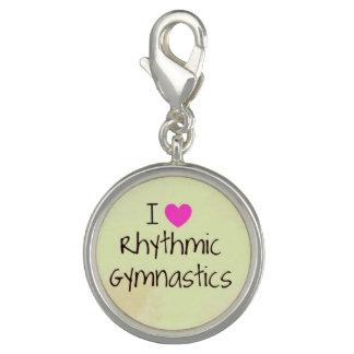 Charme de gymnastique rythmique breloques avec photo