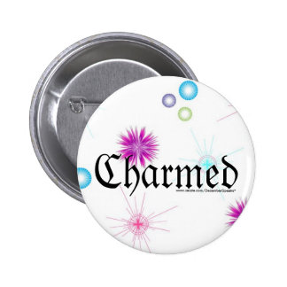Charmed 2 Inch Round Button
