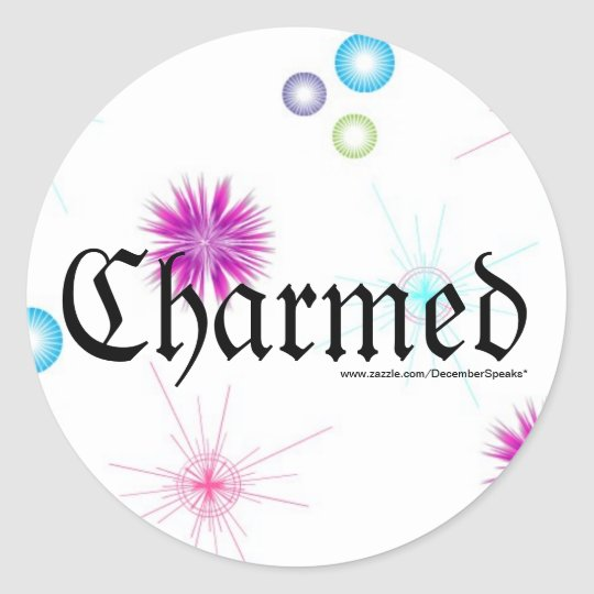Charmed Classic Round Sticker