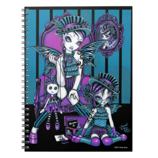 """""""Charmed"""" Gothic Couture Magical Fairy Notebook"""