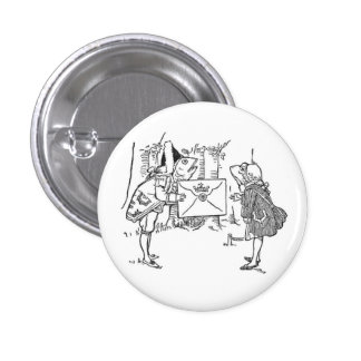 Charming 1 Inch Round Button