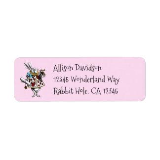 Charming Alice in Wonderland White Rabbit