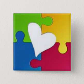 Charming Autism Awareness Pin