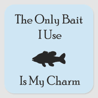 Charming Bait Square Sticker