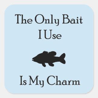Charming Bait Square Sticker