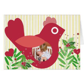 Charming Bird Photo Card