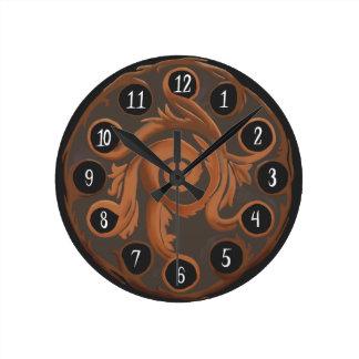Charming Copper Clock