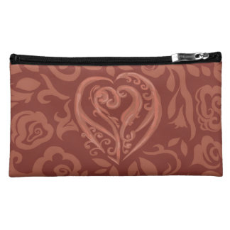 Charming Copper Makeup Baggette Makeup Bag