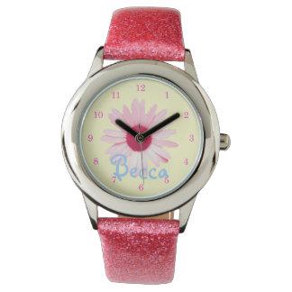 """Charming Daisy"" Custom Girl's Watch"