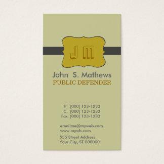 Charming Emblem Motive Logo Design Business Card