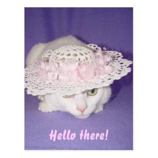 Charming Missy Postcard