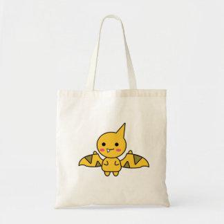 Charming Orange Dinosaur Kawaii Cartoon Tote Bag