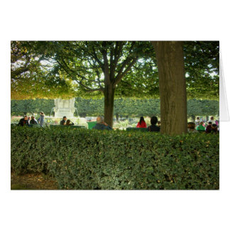 Charming Parks of Paris Card