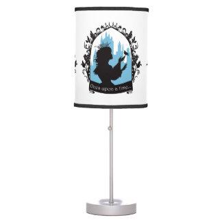 Charming princess stylish silhouette singing bird table lamps