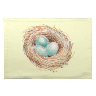 Charming Robin's Nest Custom Placemat
