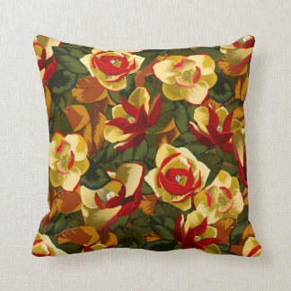Charming Southern Magnolia Pillow