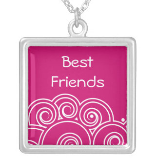 Charming Swirl Best Friends Necklace