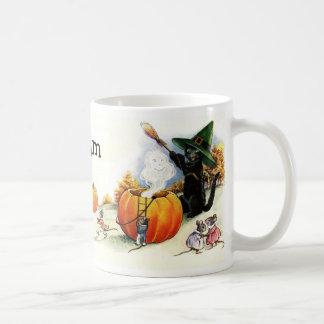Charming Vintage Halloween Mug