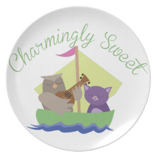 Charmingly Sweet Plate