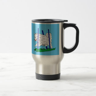 Charolette the Saomyed Travel Mug