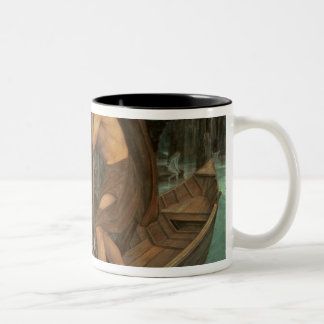 Charon and Psyche Two-Tone Coffee Mug