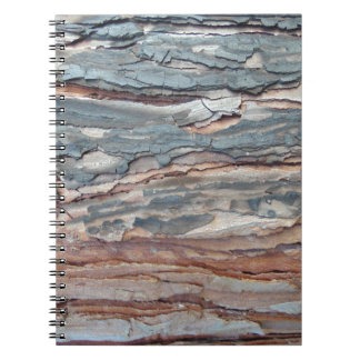 Charred Pine Bark Notebook