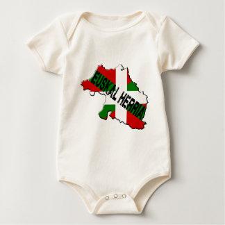 Chart Basque Country plus flag euskal herria Baby Bodysuit