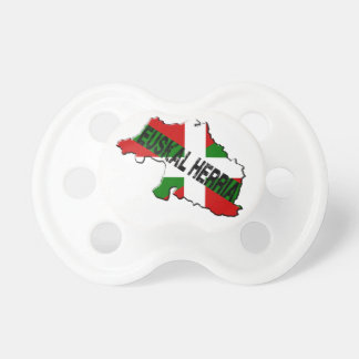 Chart Basque Country plus flag euskal herria Pacifier