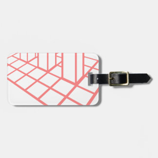 Chart Growth Luggage Tag
