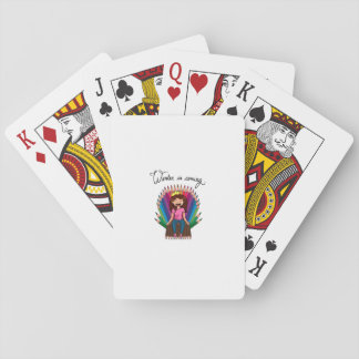 chart playing cards