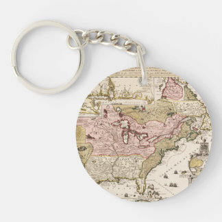 Chart Quebec America News-France by French Keychain